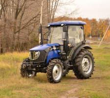 Колесный трактор Lovol 80 л.с.