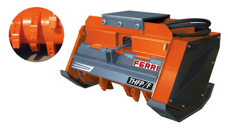 Мульчер на экскаватор FERRI THFP/F 160