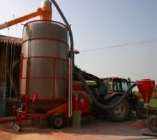 Мобильная зерносушилка FRATELLI PЕDROTTI Super 160