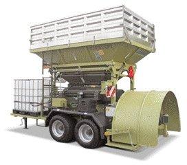 Дробилка влажного зерна Romill CP2 PLUS